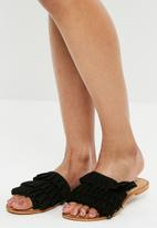 Vero Moda - Cammi leather sandal - black