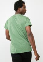 New Look - High roll tee - green