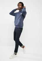 G-Star RAW - Doax long sleeve heavy sherland sweat - blue