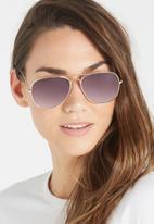Cotton On - Belle sunglasses - gold & grey
