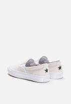 Converse - One Star CC slip - White/Black/White