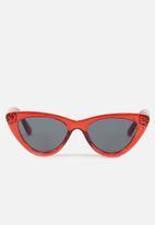 Cotton On - Narrah short frame cateye - red