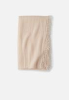 Cotton On - Cosy fringe snood - pink