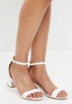 Superbalist - Kayla block heel - white