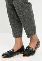 Superbalist - Buckle detail loafers - black