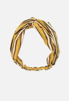 Cotton On - Manhattan headband - multi