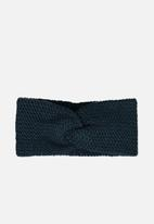 Cotton On - Alaska knit headband - green