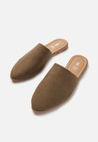 Cotton On - Charlotte soft mule - brown