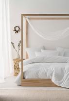 Linen House - Hartley duvet cover set - white