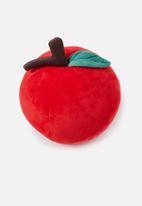 Typo - Get cushy cushion - apple