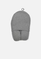 Typo - Foam travel pillow - Grey marle