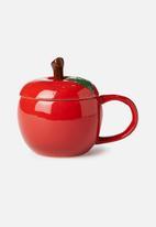 Typo - Novelty shaped mug - apple