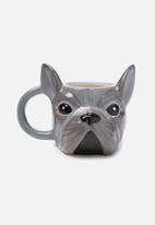 Typo - Novelty shaped mug - frenchie