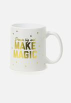 Typo - Anytime mug - dream big make magic