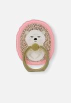 Typo - Phone rings - hedgehog