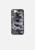 Typo - Printed phone cover universal 6,7,8 - grey agate
