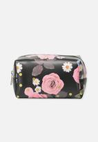 Typo - Made up cosmetic bag - polka floral