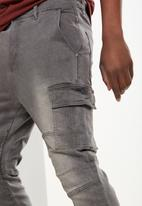 Cotton On - Denim jogger - grey