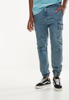 Cotton On - Denim jogger - blue