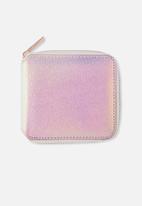 Typo - Everyday wallet - textured iridescent