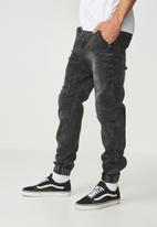 Cotton On - Denim jogger - black
