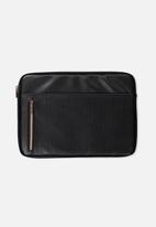 Typo - Take charge 13 inch laptop cover - black luxe
