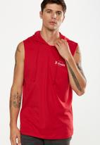 Cotton On - Hustle muscle tee - red
