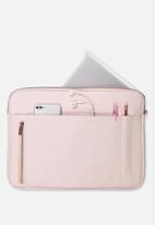 Typo - Take charge 15 inch laptop cover - blush perforated