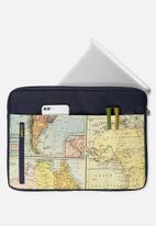 Typo - Take charge 15 inch laptop cover - map quest