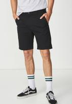 Cotton On - Washed chino short - black