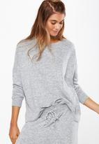 Cotton On - Super soft  lounge top - grey