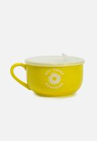 Typo - Big mug bowl - hey there sunshine