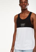 Cotton On - Tbar printed tank - black & white