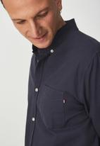 Cotton On - Brunswick shirt - navy