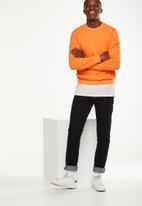 Cotton On - Summer crew fleece - orange