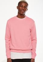 Cotton On - Summer crew fleece - pink