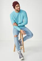 Cotton On - Summer crew fleece - blue
