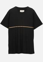 Cotton On - Dylan tee - black