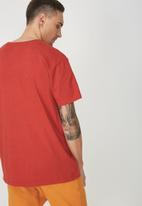 Cotton On - Dylan tee - red