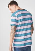 Cotton On - Dylan tee - blue & pink