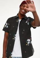 Cotton On - Vintage prep shirt - black