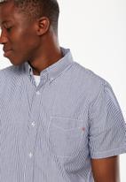 Cotton On - Vintage prep shirt - navy & white