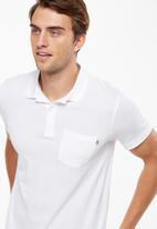 Cotton On - Icon Polo - white