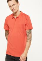 Cotton On - Icon polo - red