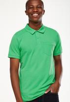 Cotton On - Icon polo - green