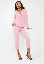 Superbalist - Double breasted blazer - pink