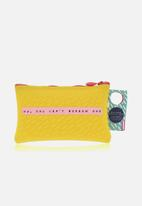 NPW - Notes to self pencil case - yellow