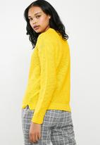Superbalist - Scoop neck knit - yellow