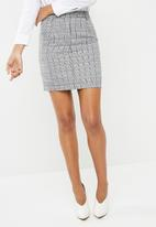 Superbalist - Check mini skirt - multi