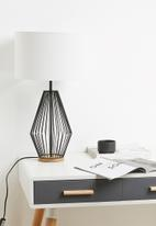 Sixth Floor - Alatea table lamp - black